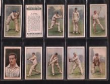 Cigarette cards Cricketers second series 1929